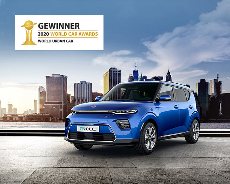 KIA E-SOUL: Gewinner des World Car Awards